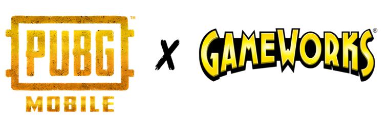 PUBG Mobile and GameWorks Inc Logos